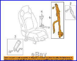 GM OEM Front Seat-Belt & Buckle Retractor Right 19257679