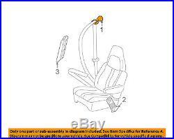 GM OEM Front Seat-Belt & Buckle Retractor Right 19260275