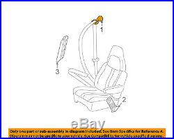 GM OEM Front Seat-Belt & Buckle Retractor Right 19260280
