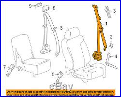 GM OEM Front Seat-Belt & Buckle Retractor Right 19330294