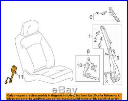GM OEM Front Seat Belt-Buckle Right 19300615