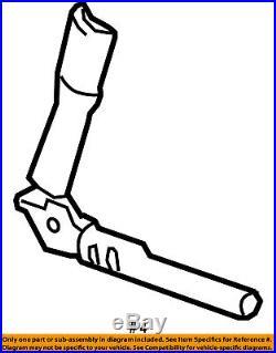 GM OEM Front Seat Belt-Buckle Tensioner 19329223