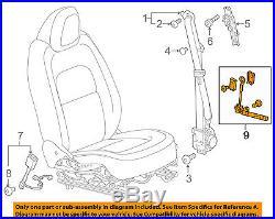 GM OEM Front Seat Belt-Buckle Tensioner 19332435