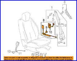 GM OEM Front Seat Belt-Buckle Tensioner Left 19256046