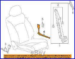 GM OEM Front Seat Belt-Buckle Tensioner Left 19259287