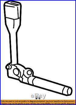 GM OEM Front Seat Belt-Buckle Tensioner Left 19299516