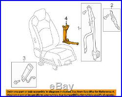 GM OEM Front Seat Belt-Buckle Tensioner Left 19329400