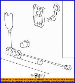 GM OEM Front Seat Belt-Buckle Tensioner Right 19256045