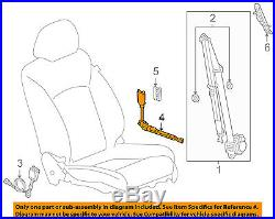 GM OEM Front Seat Belt-Buckle Tensioner Right 19259285