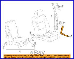 GM OEM Front Seat Belt-Buckle Tensioner Right 19366546