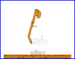 GM OEM Rear Seat Belt-Belt & Buckle Retractor Left 89022625