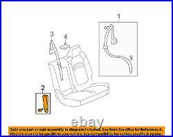 GM OEM Second Row Back Rear Seat Belt-Buckle End Left 19301277