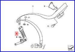 Genuine BMW E53 X5 E83 X3 E85 E86 Z4 Left Seat Belt Buckle with Tensioner
