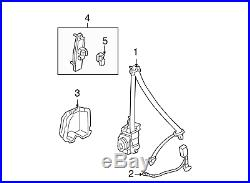 Genuine Honda 04816-SDA-A72ZC Seat Belt Buckle Set Left Front