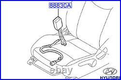 Genuine Hyundai Ioniq Hybrid Passengers Seat Belt Buckle 2016 88830G2000