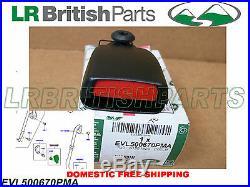 Genuine Land Rover Rear Seat Belt Buckle Outer Lr3 Lh Evl500670pma New