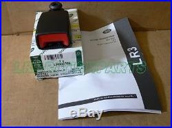 Genuine Land Rover Rear Seat Belt Buckle Outer Lr3 Lr4 Lh Lr009305 New