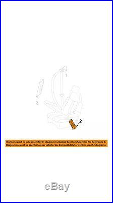 Gm Oem Seat Belt Buckle 19181642 Brand-New