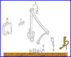 HONDA OEM 01-02 Accord Front Seat Belt-Buckle 04816S82A22ZC