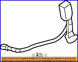 HONDA OEM 03-06 Accord Front Seat Belt-Buckle 04816SDCA72ZC