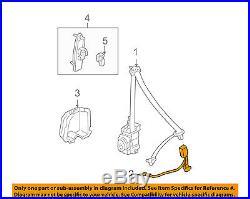 HONDA OEM 03-07 Accord Front Seat Belt-Buckle 04816SDAA12ZB