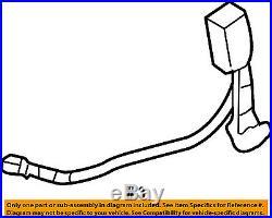 HONDA OEM 03-07 Accord Front Seat Belt-Buckle 04816SDNA02ZA