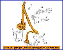 HONDA OEM 06-08 Pilot Rear Seat Belt-Belt & Buckle Retractor Left 04868S9VA02ZG