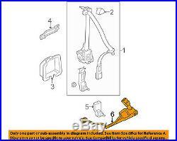 HONDA OEM 06-11 Civic Front Seat Belt-Buckle Left 04816SVAA02ZB