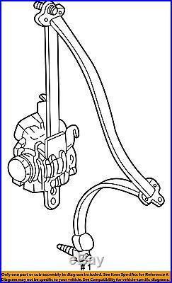 HONDA OEM 09-14 Ridgeline Front Seat-Belt & Buckle Retractor Left 04818SJCA11ZD