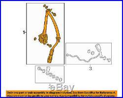 HONDA OEM 13-16 Accord Front Seat-Belt & Buckle Retractor Left 04818T3LA00ZB