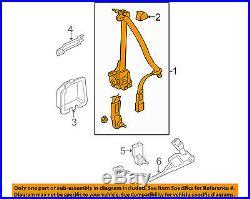 HONDA OEM 2008 Civic Front Seat-Belt & Buckle Retractor Left 04818SVAA01ZB