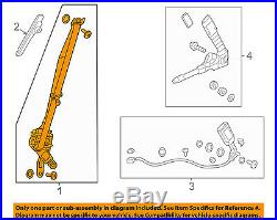 HONDA OEM 2012 Civic Front Seat-Belt & Buckle Retractor Left 04818TR3A00ZD