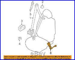 HYUNDAI OEM 05-06 Santa Fe Front Seat Belt-Buckle Right 8884026700TI