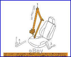 HYUNDAI OEM 11-14 Sonata Front Seat-Belt & Buckle Retractor Left 888103Q000RY