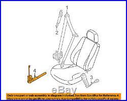 HYUNDAI OEM 11-15 Sonata Front Seat Belt-Buckle Tensioner Right 888413Q000