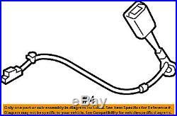 HYUNDAI OEM 15-16 Sonata Front Seat Belt-Buckle Left 88830C2000TRY