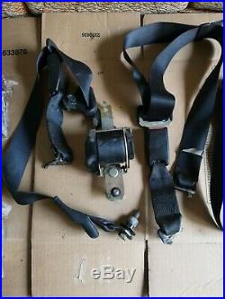 Honda Civic 92-95 Seat Belt BLACK Buckle SET SEDAN Front Back LHD EDM