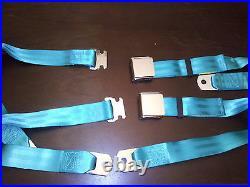 Impala ss chevy gm Malibu super sport nova 283 327 350 chrome buckle seat belts
