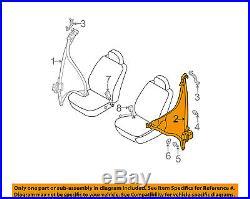 Infiniti NISSAN OEM 2005 G35 Front Seat-Belt & Buckle Retractor Left 86885AC803