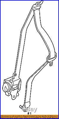 Infiniti NISSAN OEM JX35 Front Seat-Belt & Buckle Retractor Right 868843JA9A