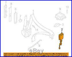 JAGUAR OEM 01-06 XK8 Front Seat Belt-Buckle HJE7017AGAEK