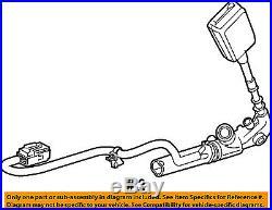 JAGUAR OEM 04-07 XJ8 Front Seat Belt-Buckle Right C2C32972AEK