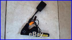 Jaguar X Type 02-08 Left Driver Front Seat Belt Buckle Black Color Oem Used
