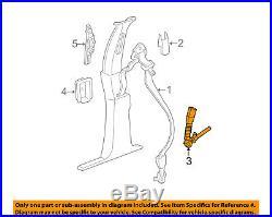 Jeep CHRYSLER OEM 06-10 Commander Front Seat Belt-Buckle End Left 5HP151J3AG