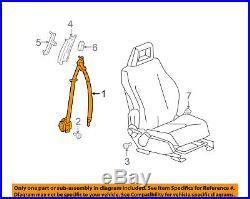 Jeep CHRYSLER OEM 10-15 Patriot Front Seat Belt Buckle-Retractor Assy 1XC681DVAB