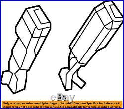 Jeep CHRYSLER OEM 11-16 Wrangler Front Seat Belt-Buckle End Right 1RH741X9AB