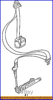 Jeep CHRYSLER OEM Renegade Front Seat-Belt & Buckle Retractor Left 5VW73GTVAA