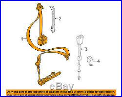 Jeep CHRYSLER OEM Renegade Front Seat-Belt & Buckle Retractor Right 5VW71LXHAA