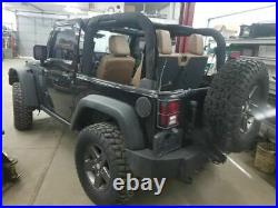 Jeep JK Wrangler Passenger Right Front Seat Belt Buckle 1RH741XVAB 11-17 30661