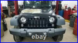 Jeep JK Wrangler Passenger Right Front Seat Belt Buckle 1RH741XVAB 11-17 32941